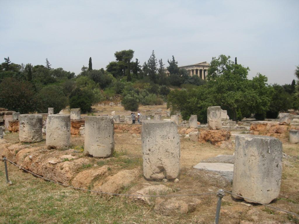 Athens ruins tour