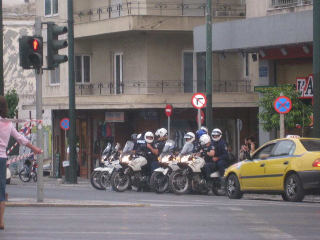 Cops in Athens