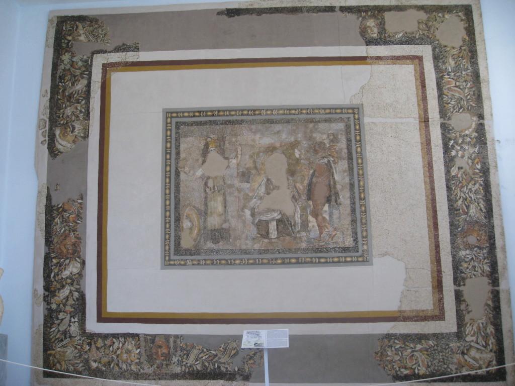 Delos mosaic