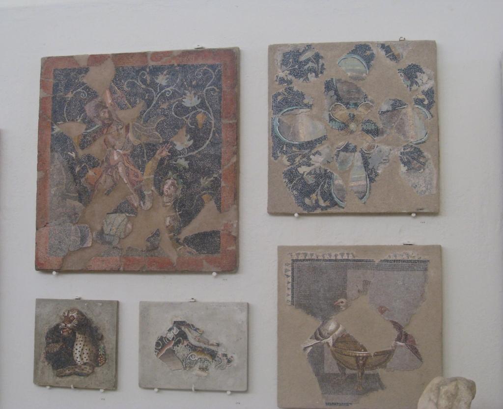 Mosaics in Delos