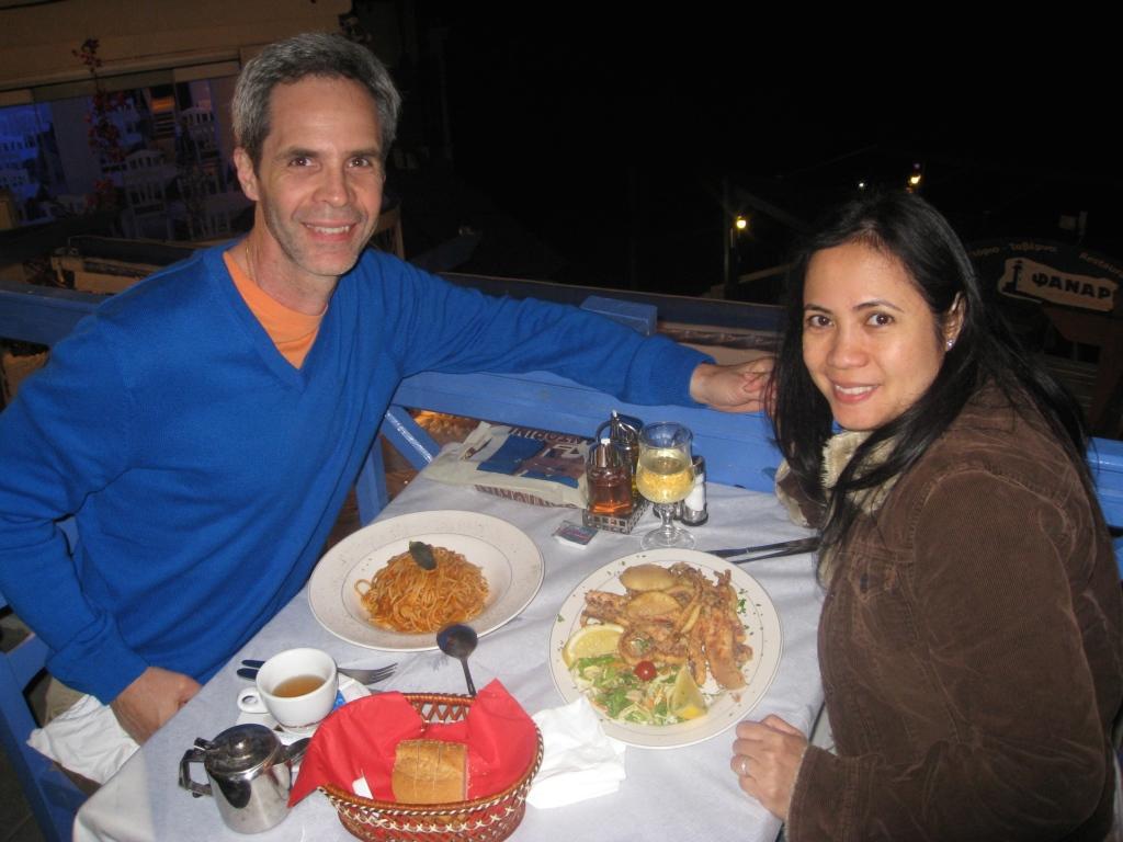 Dinner in Oia