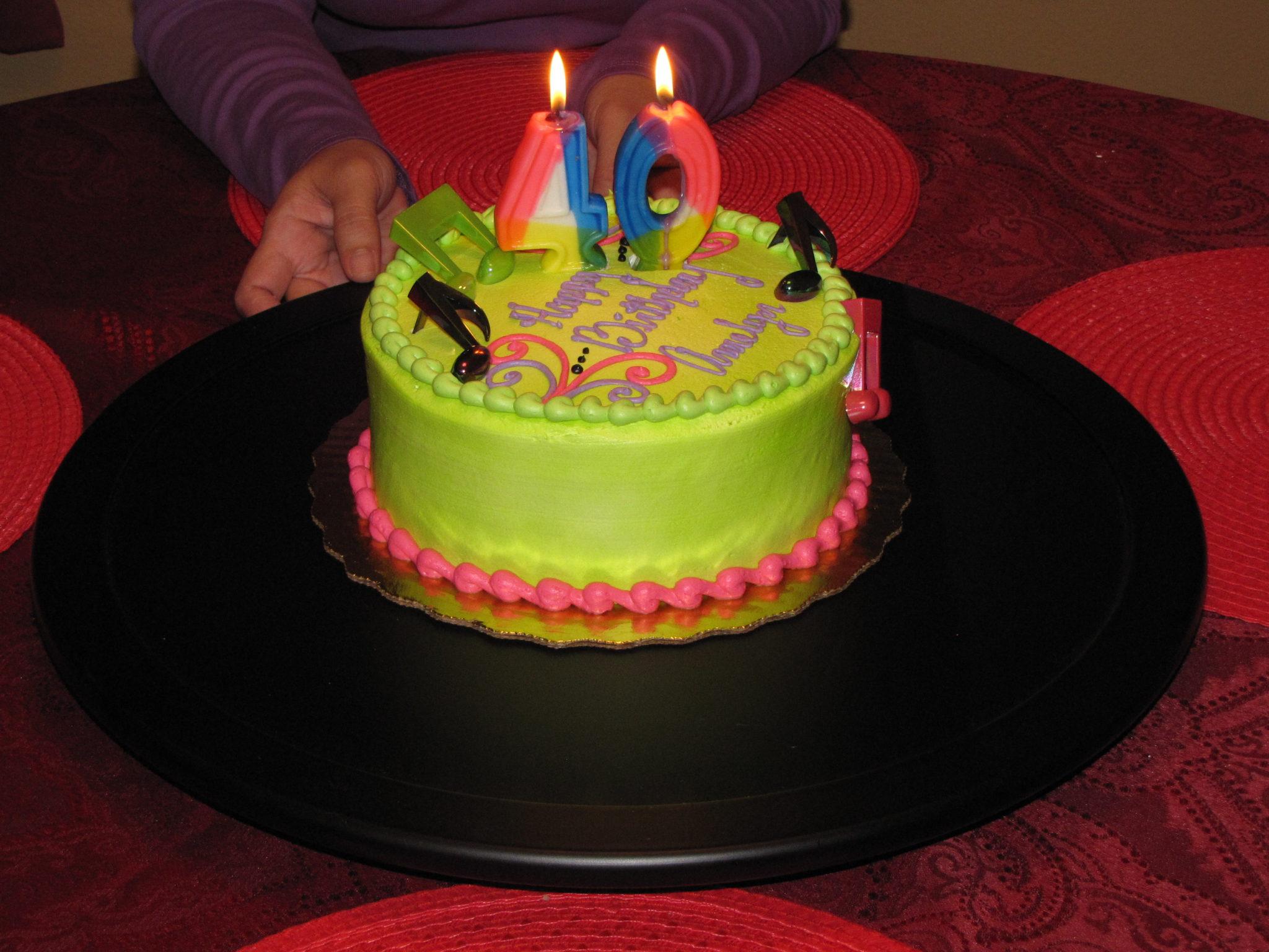 Double Birthday Celebrations