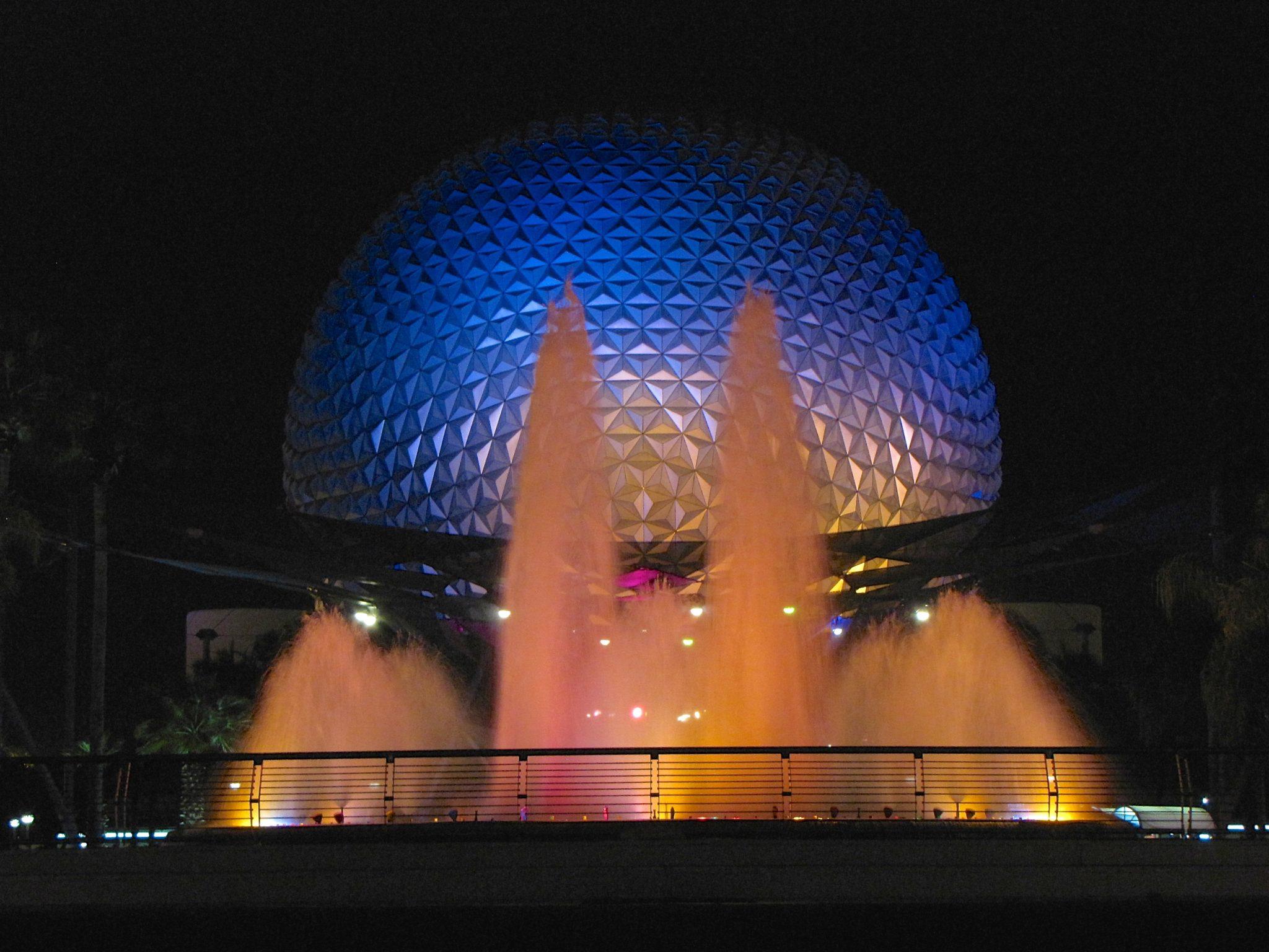 Epcot Center in Orlando, Florida