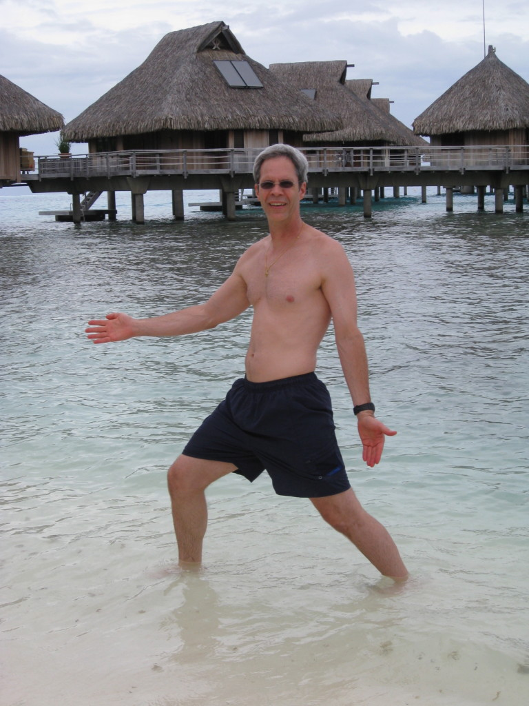 Struttin' in Bora Bora