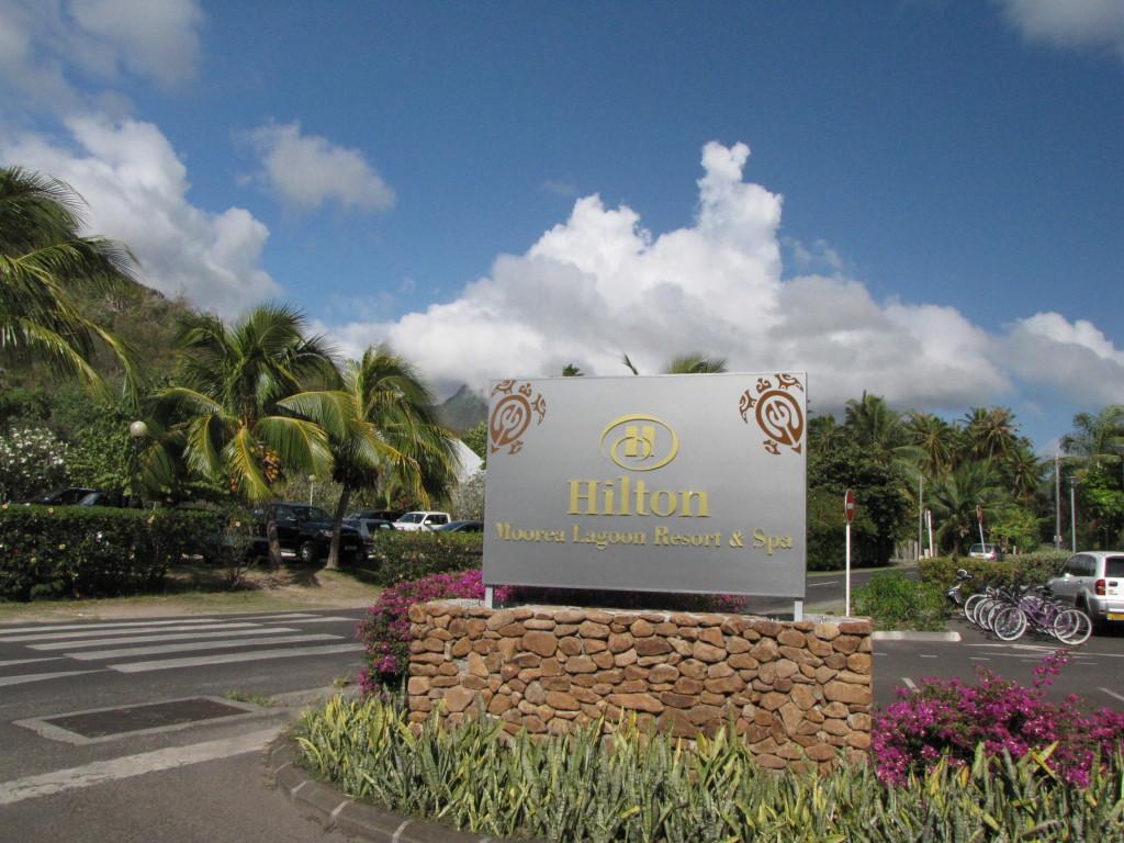 Hilton in Moorea