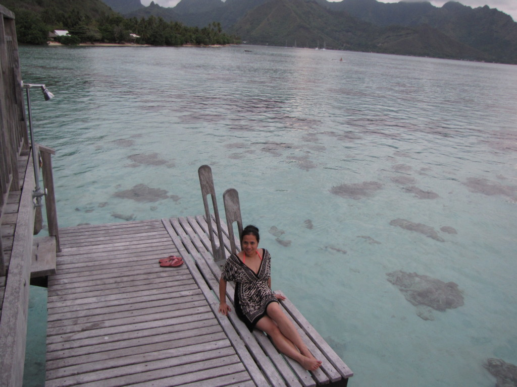 Loving life in Mo'orea