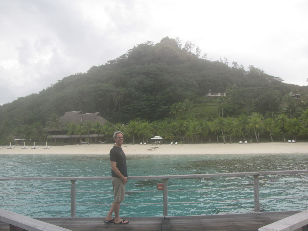 Joe in Bora Bora