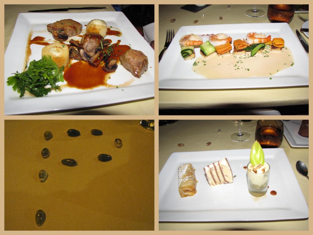 Dinner at Iriatai Restaurant