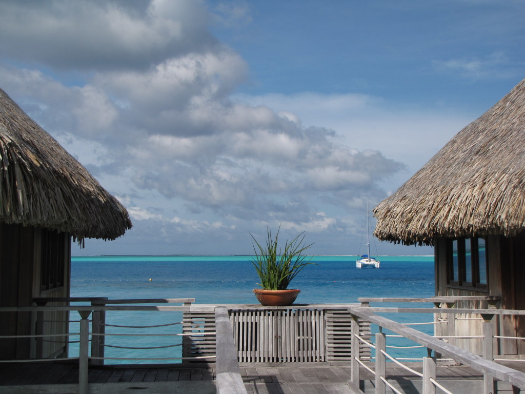 Sunny day in Bora Bora