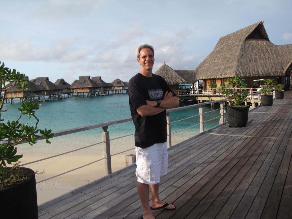 J in Bora Bora