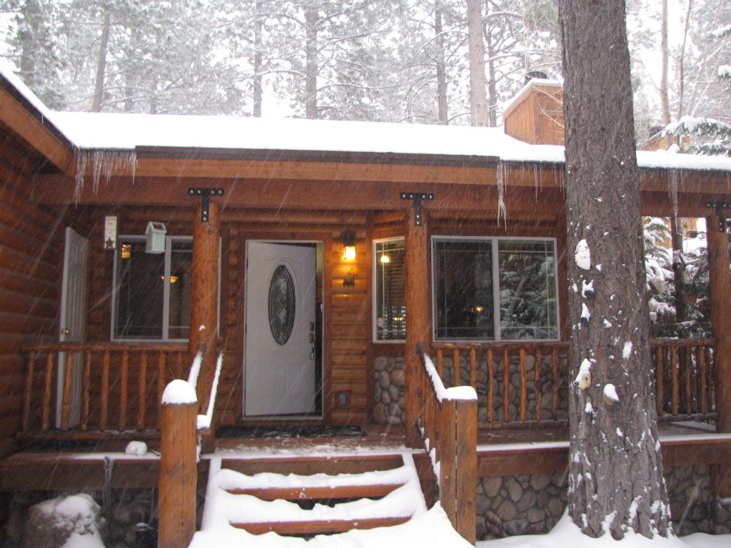 Our cabin for the weekend