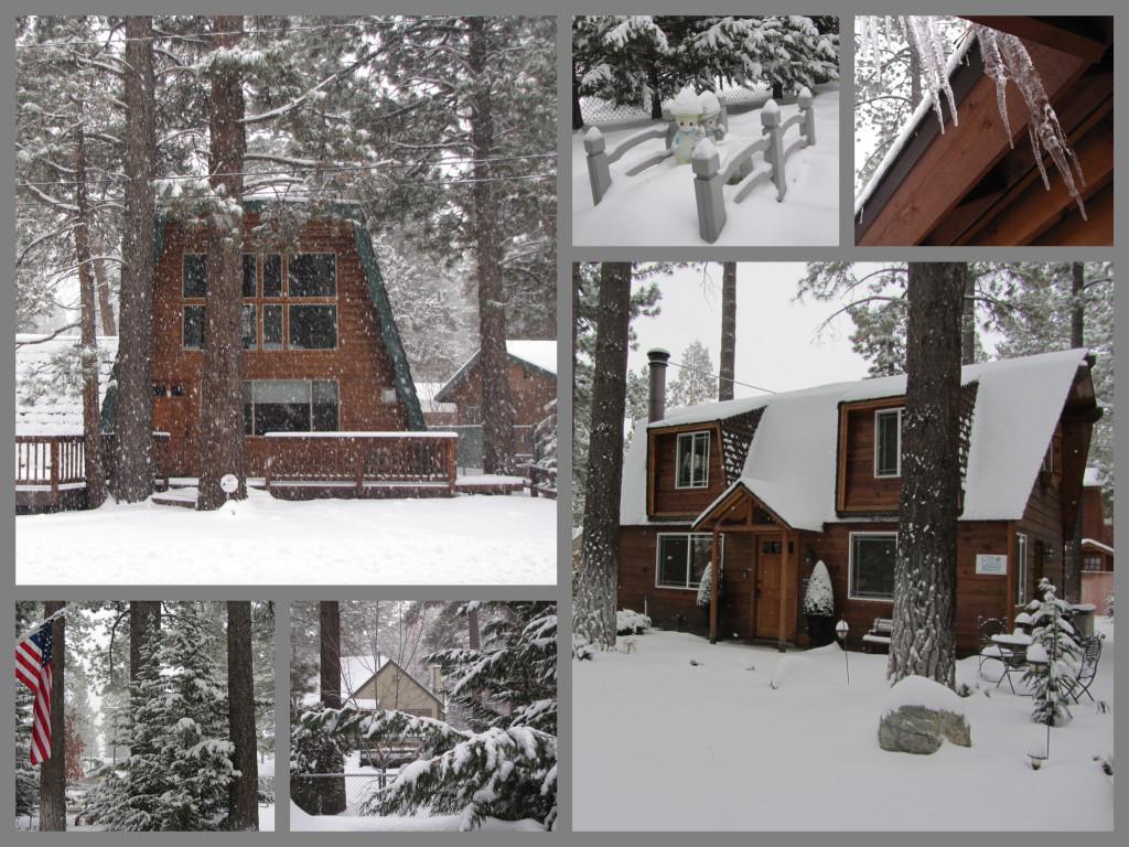 A snowy December in Big Bear