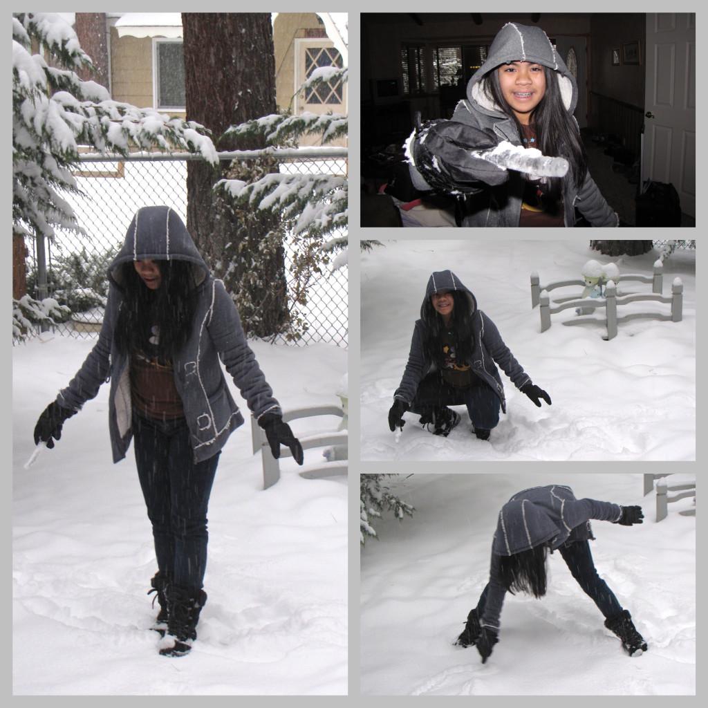 Snow time again