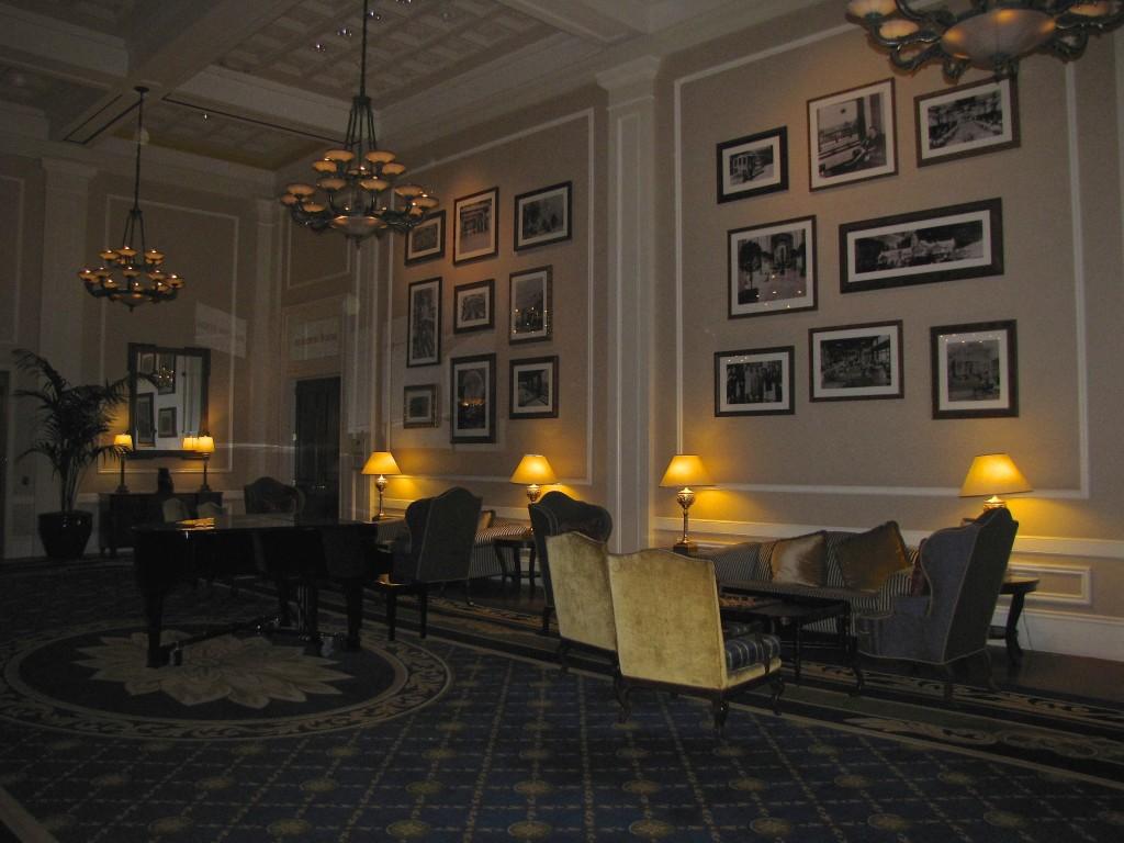 Claremont lobby