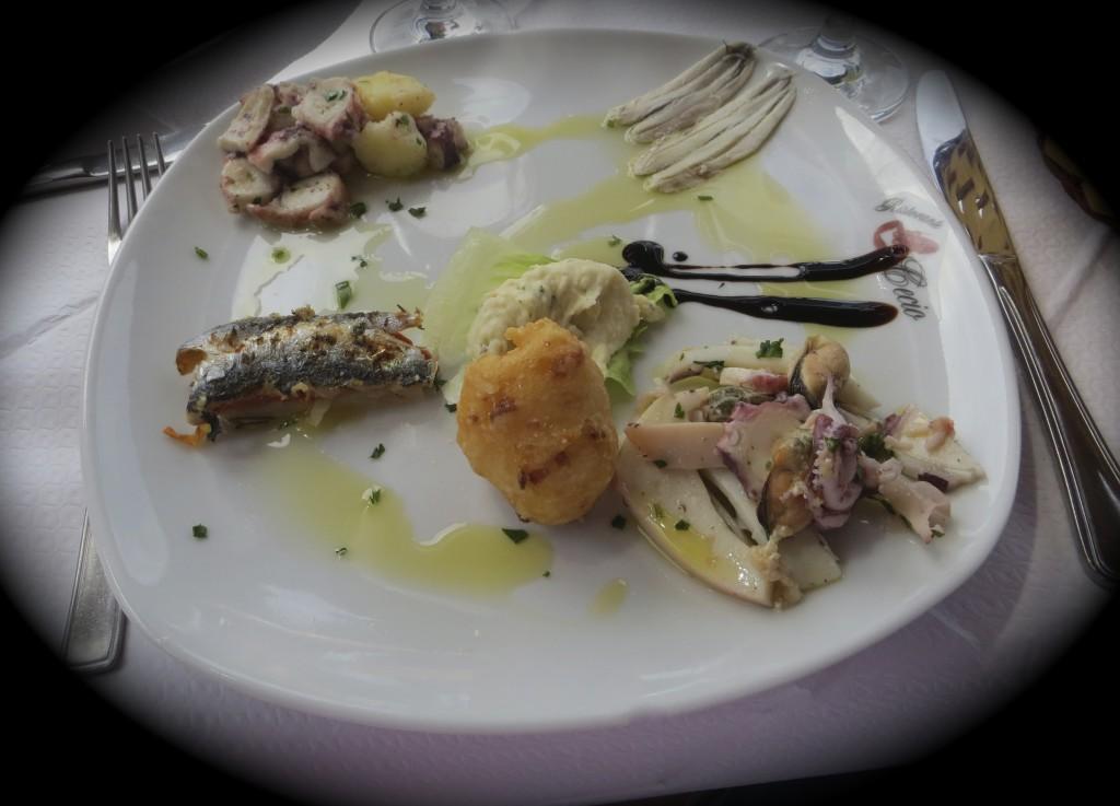 Lunch at Ristorante Cecio