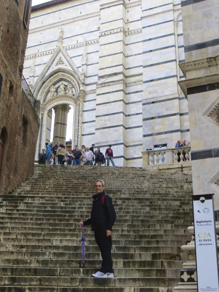 Joe in Siena