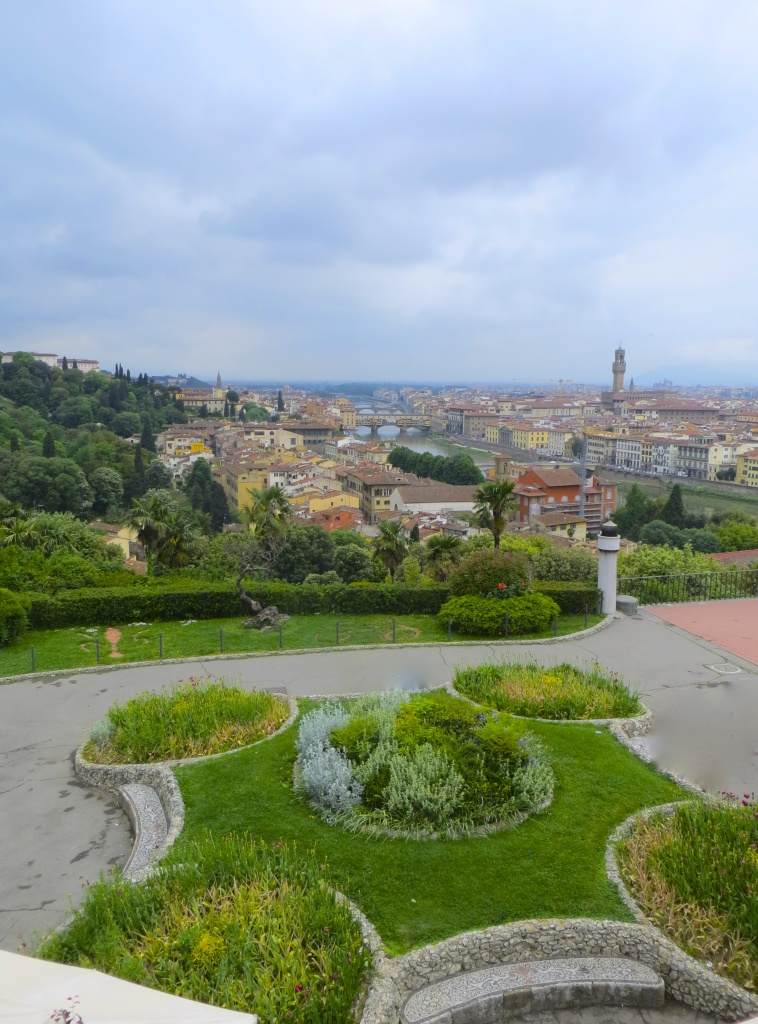 The beautiful view from Piazzale Michelangelo