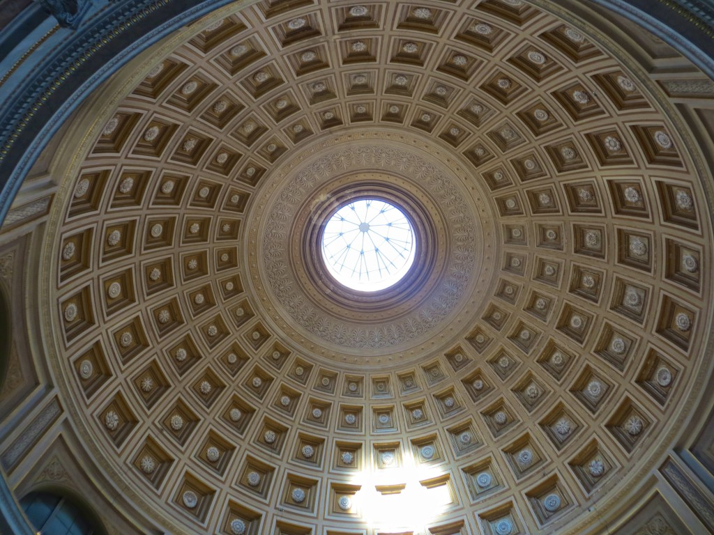 Dome in the Sala Rotunda