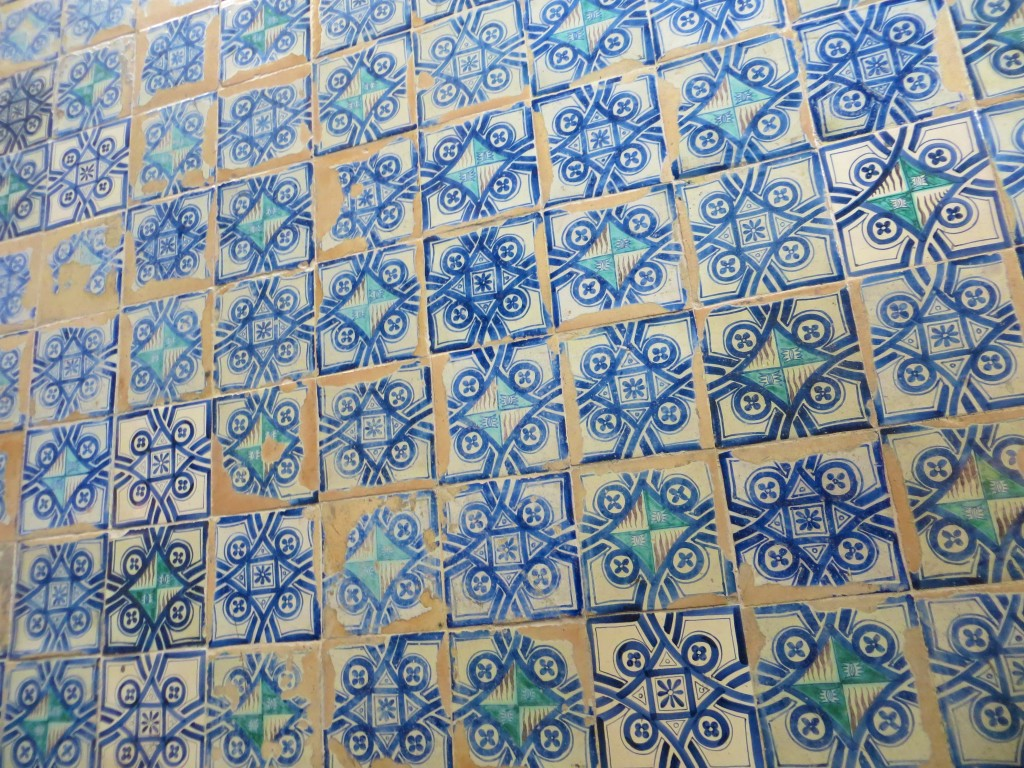 tiles in the Borgia Apartment