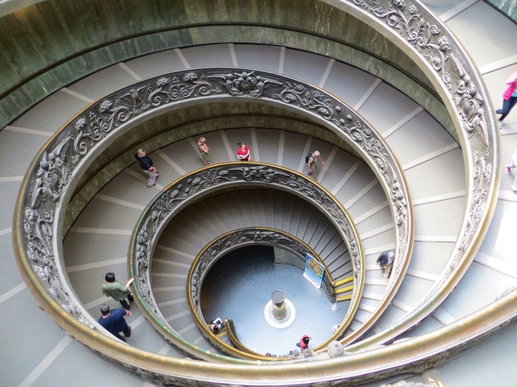 Spiral Staircase By Giuseppe Momo At The Vatican Museum