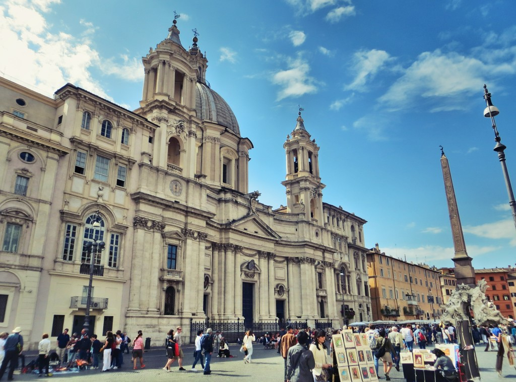Piazza Navona in Roma