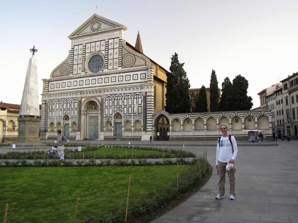 j in front of Santa Maria Novella church