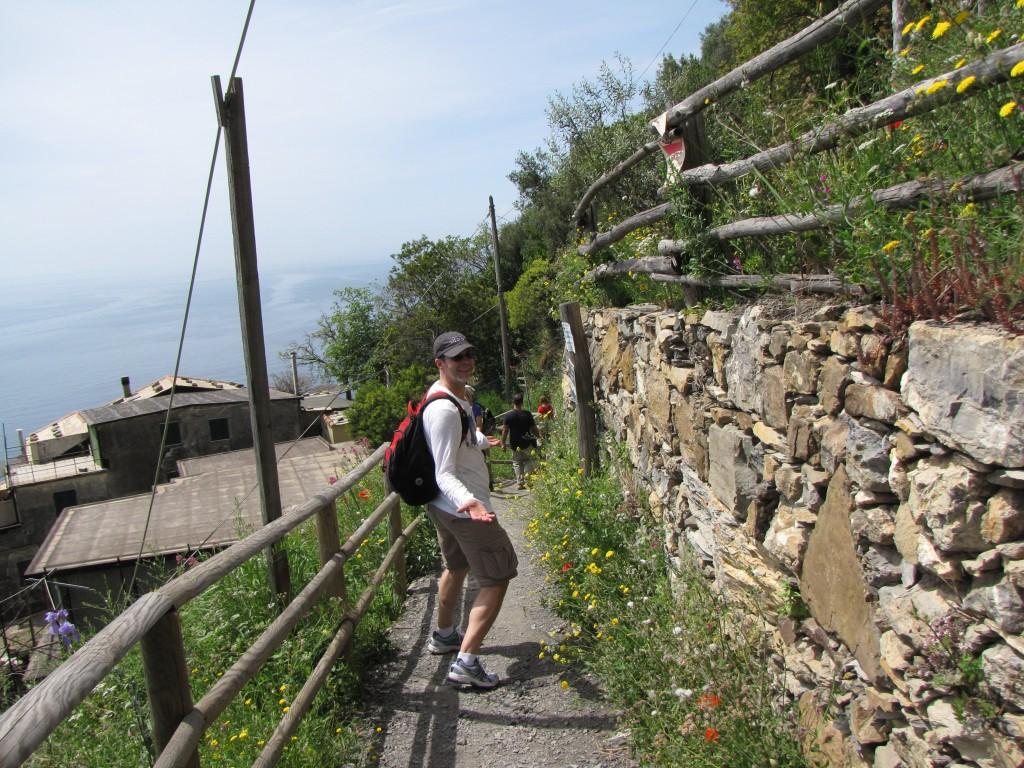 J in Cinque Terre