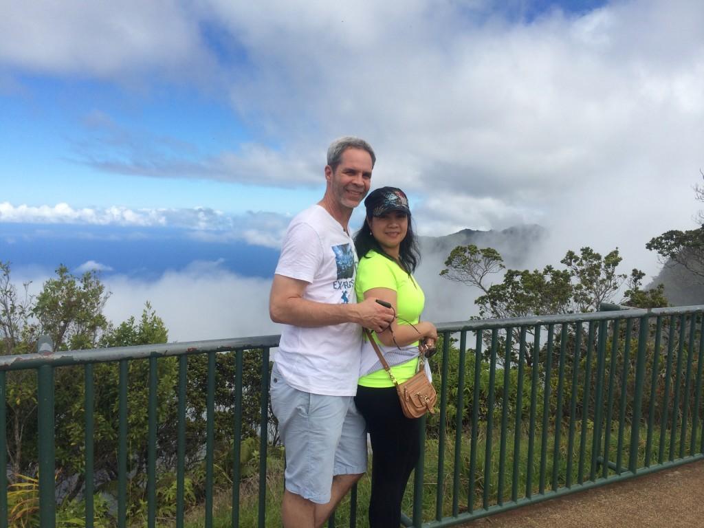 JE's Kalalau Lookout trip