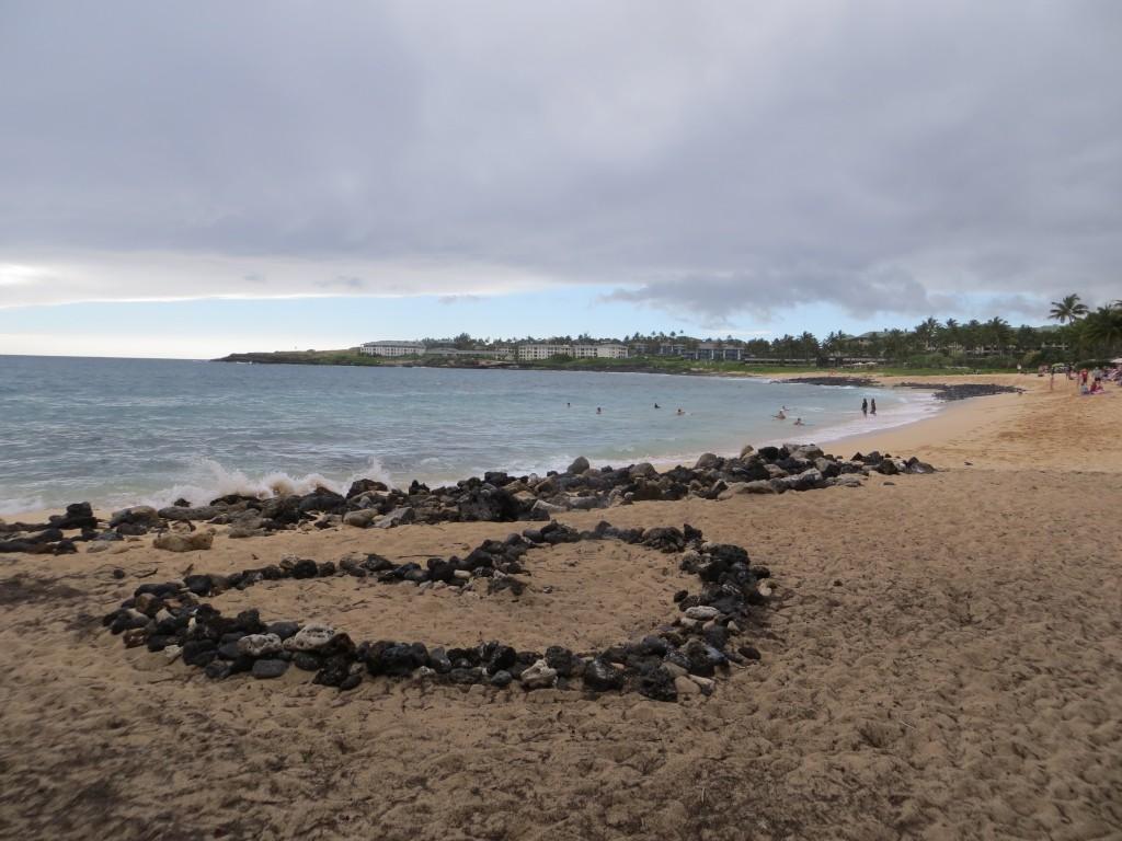 Heart and Beach