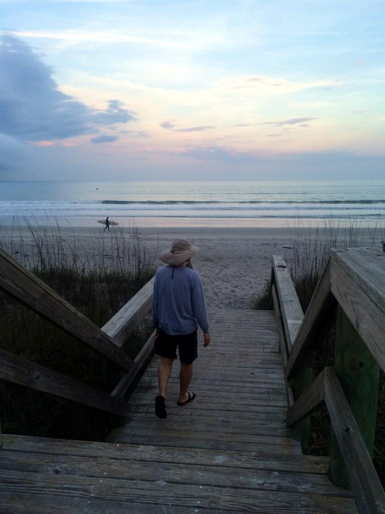 Joe at the beach