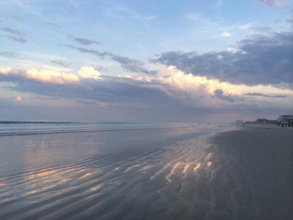 Cocoa Beach at sunset