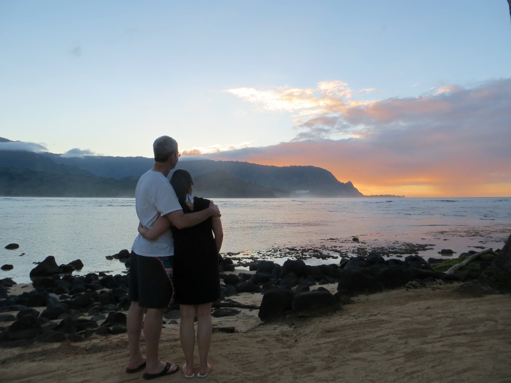 Sunset in Princeville