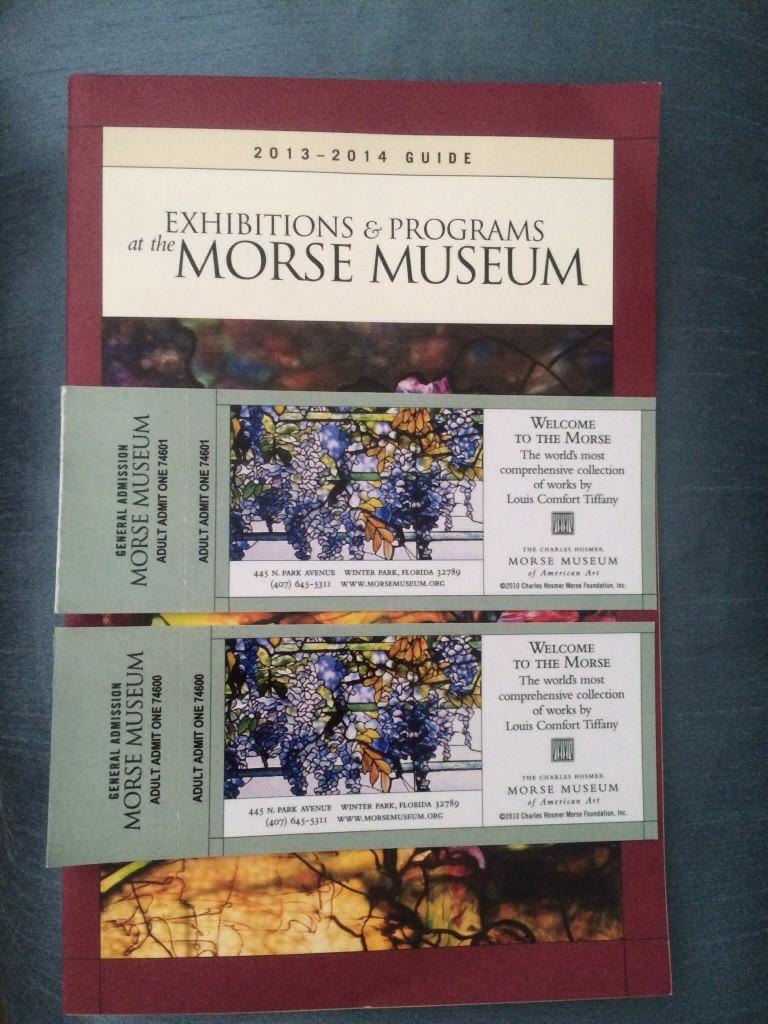 Museum tix