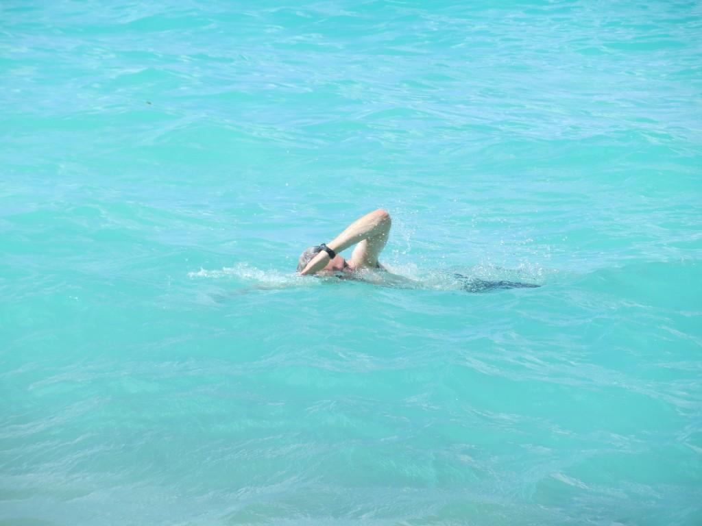 J swimming