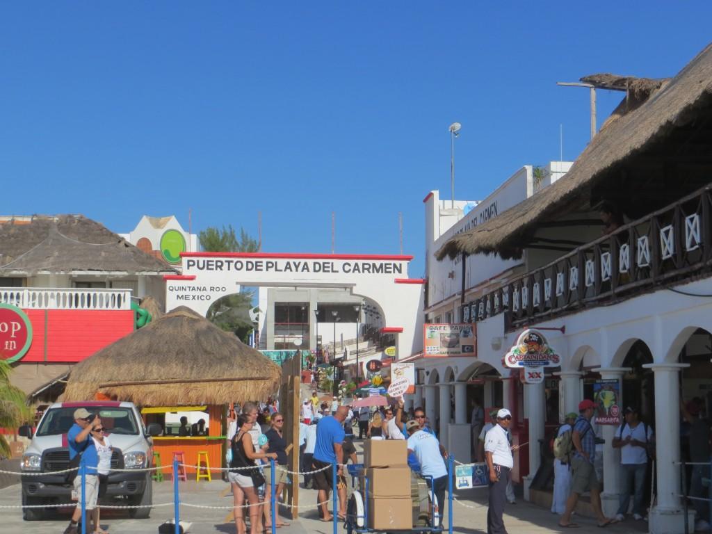 Puerto de Playa del Carmen