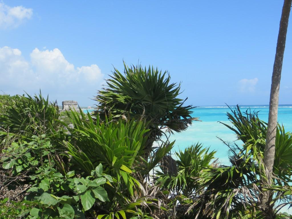 Ruins on the Caribbean Sea