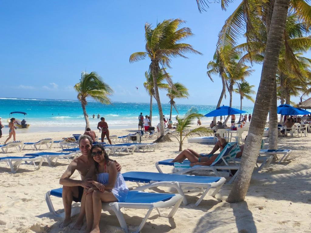 JE in El Paraiso Beach