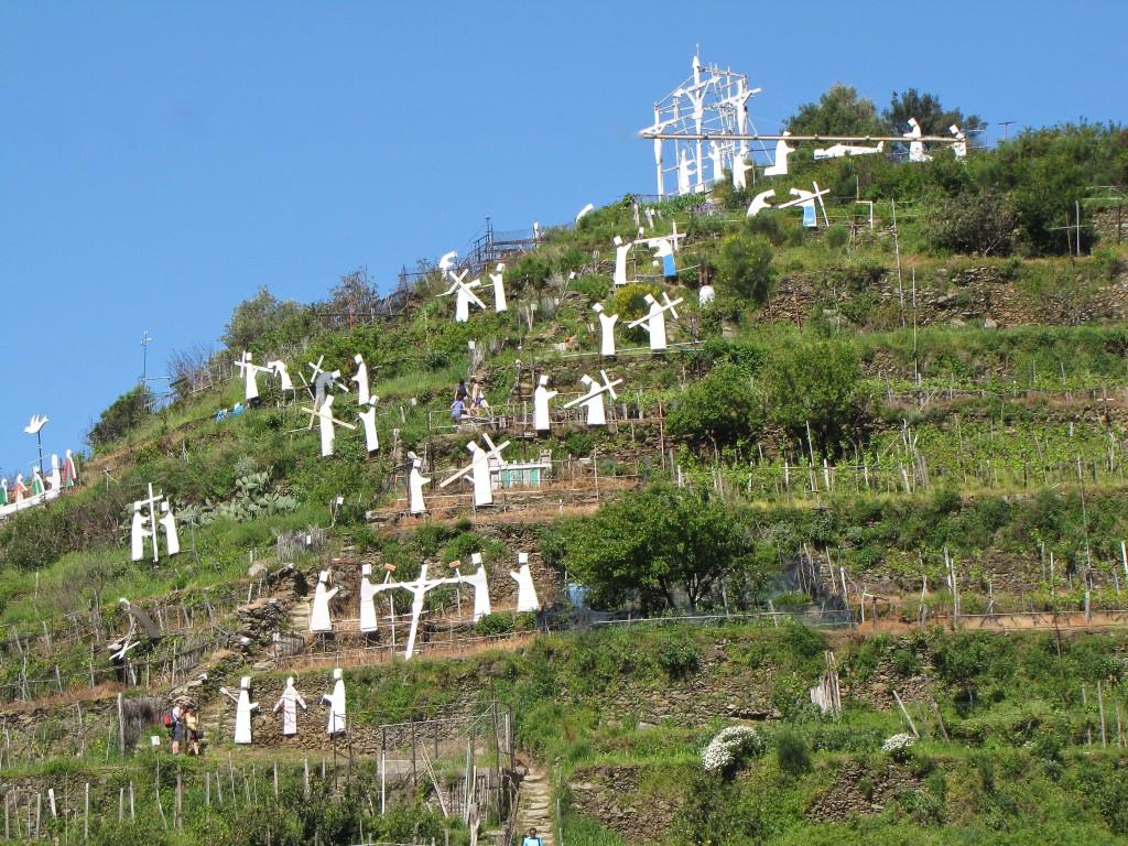 Hillside Nativity in Manarola