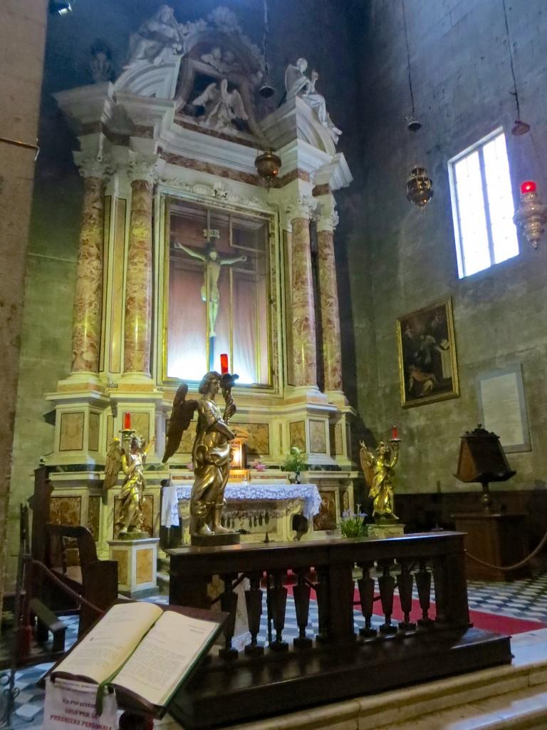 Inside San Michele