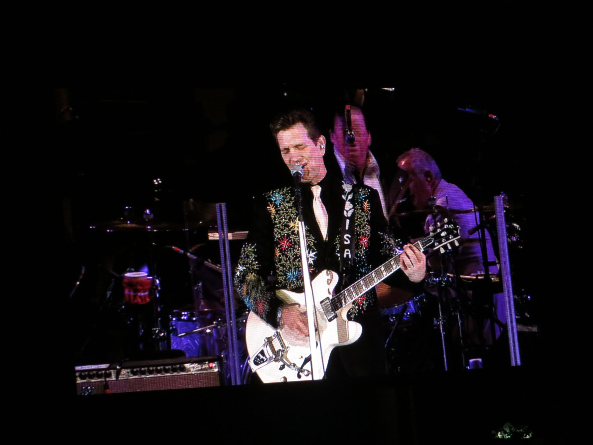 Chris Isaak at the Hollywood Bowl