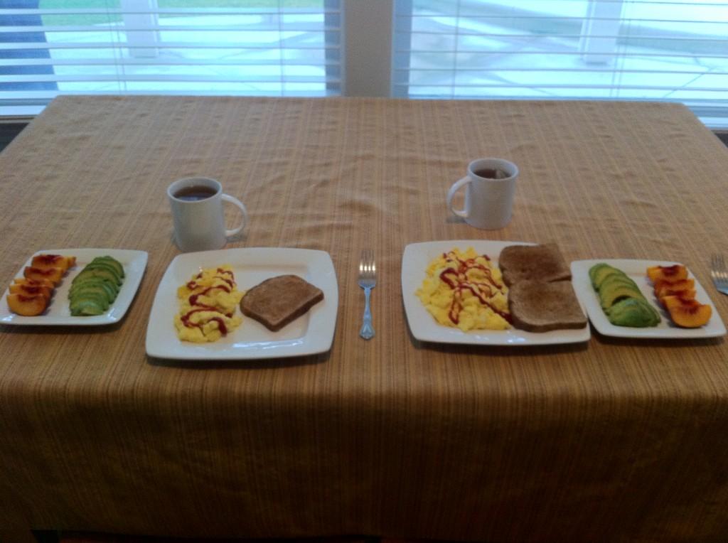 Breakfast by J