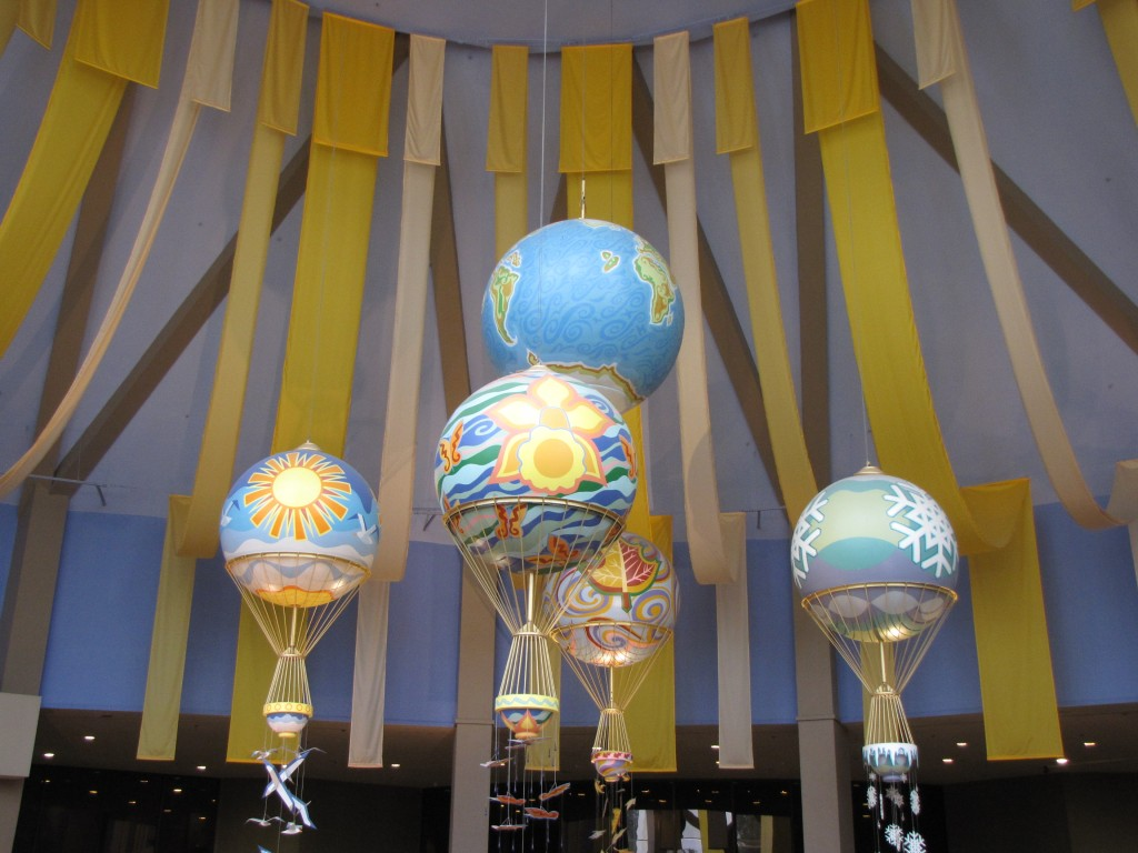 Balloons in Epcot