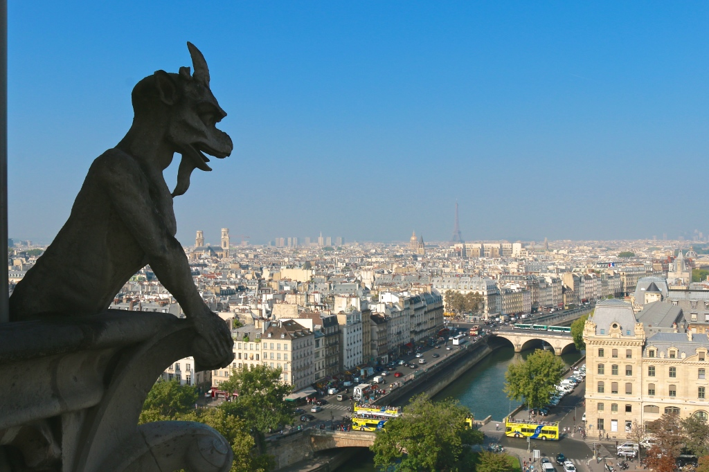 A panoramic view of Paris