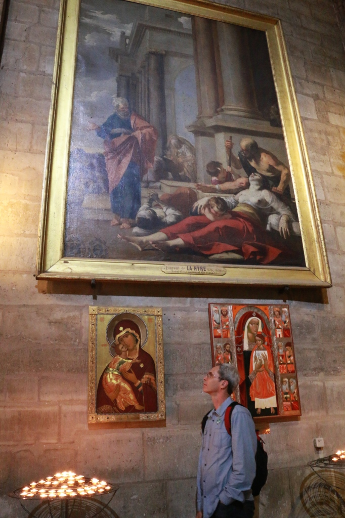 paintings inside the cathedral