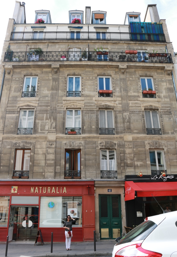 Monmartre buildings