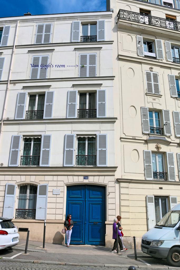 Van Gogh's place in Monmartre