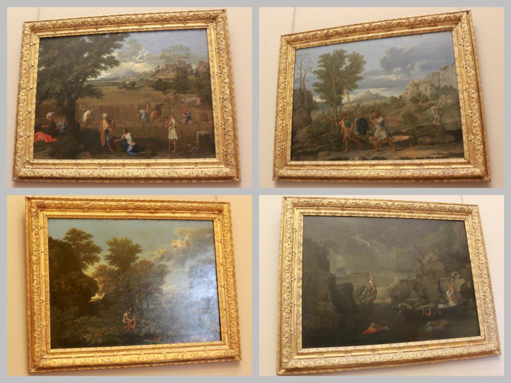 Nicolas Poussin's Paintings