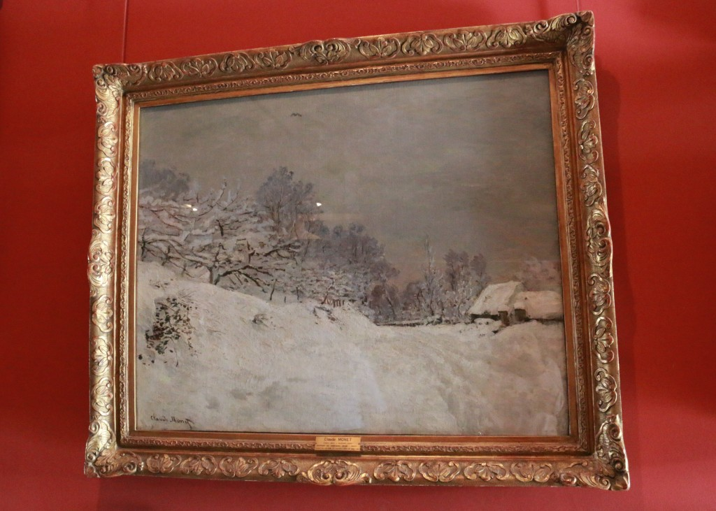 Claude Monet's painting