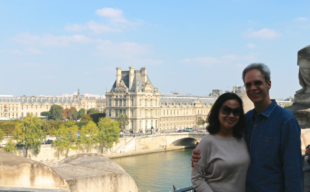 The view from the Musee' du Orsay