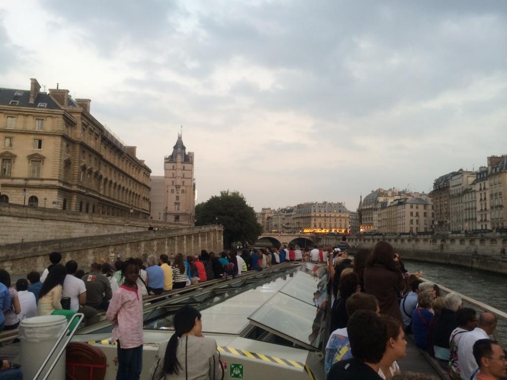 Seine river boat cruise